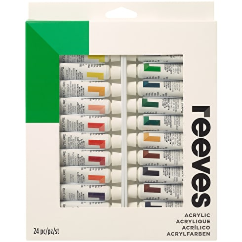 Reeves Acrylic 10ml Set of 24